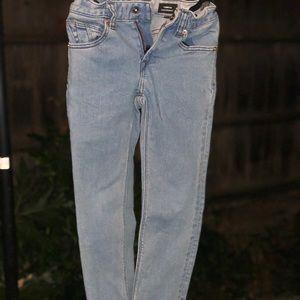 Volcom vorta slim straight little boys jeans